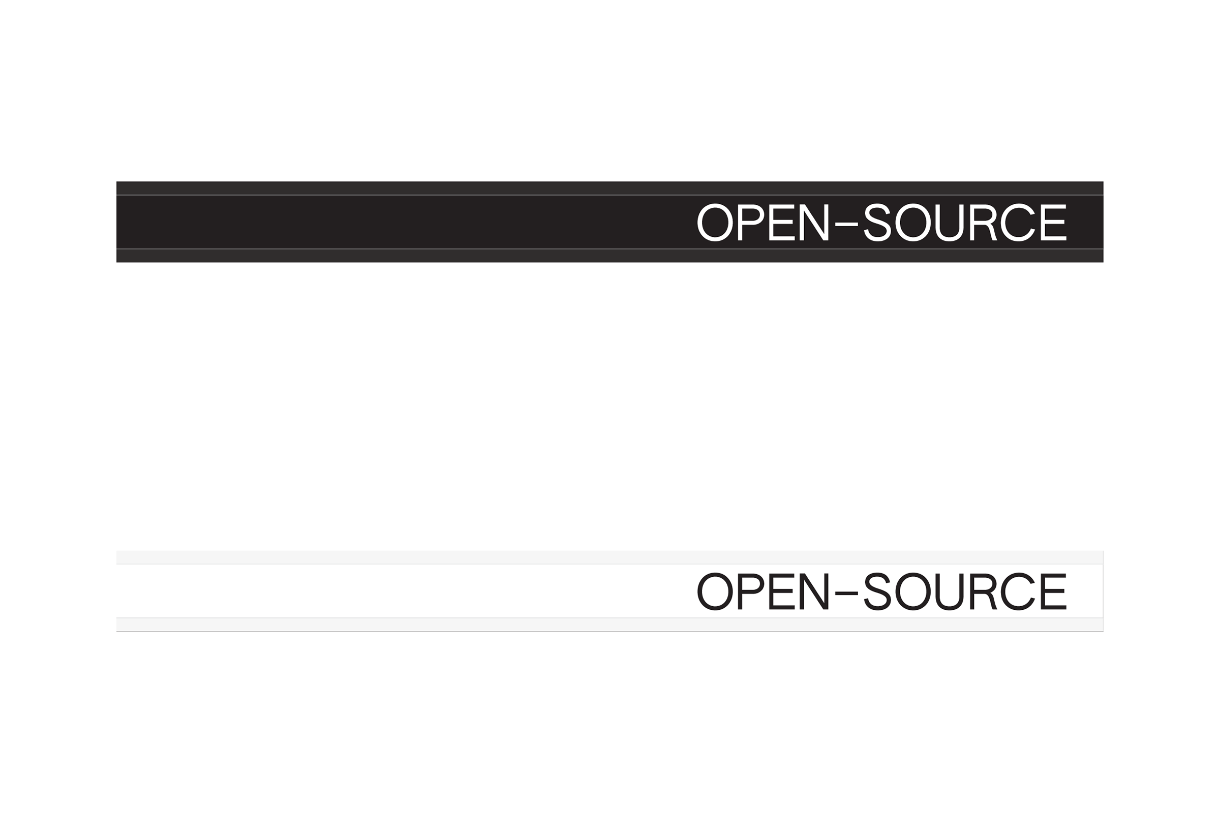 OPEN–SOURCE