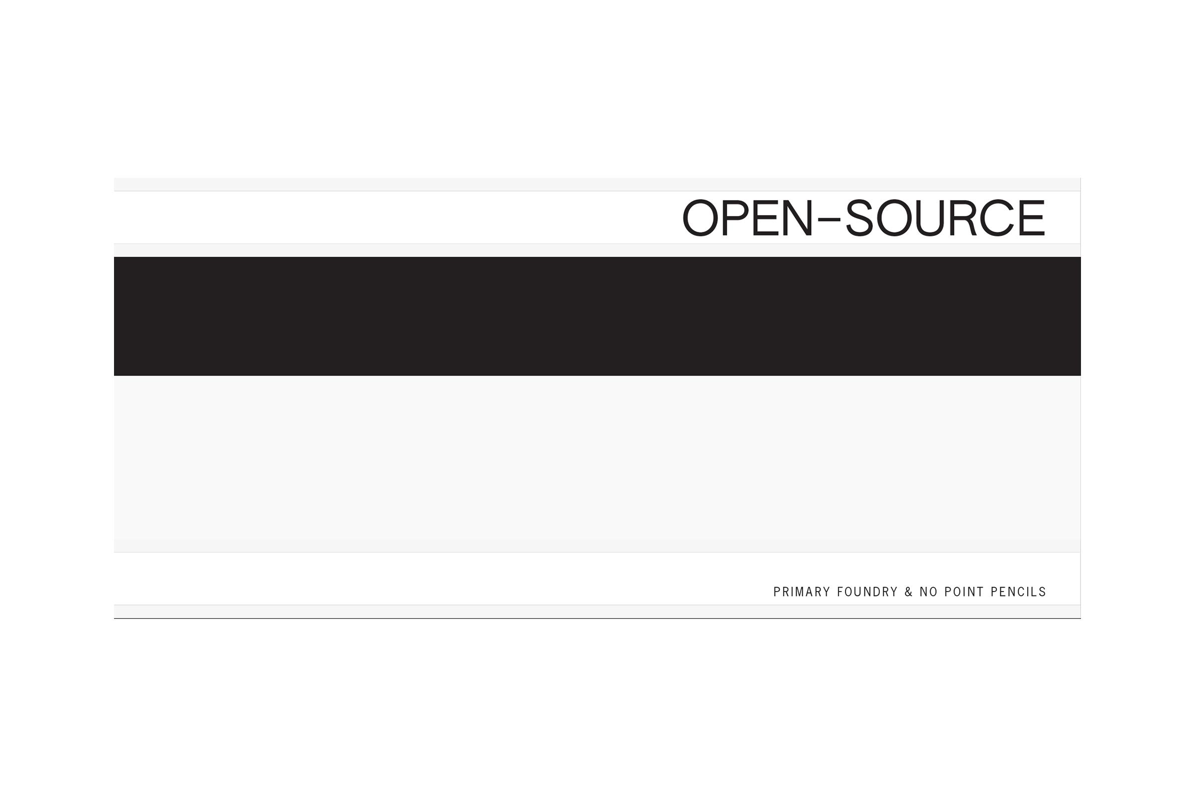 OPEN–SOURCE